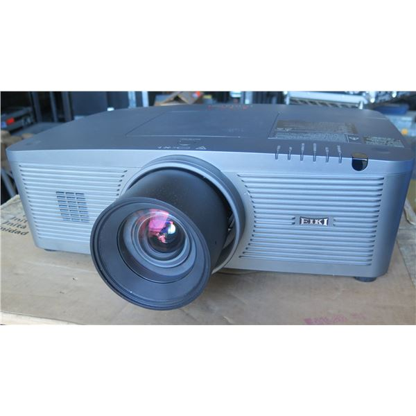 EIKI LC-WUL100a 1920 x 1200 Lamp Projector w/ Short Throw Lens, Power Zoom