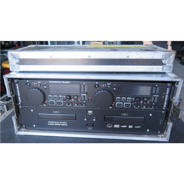 American A udio UCD-200; Dual Rackmount CD Player w/Pitch Control -- In Rack