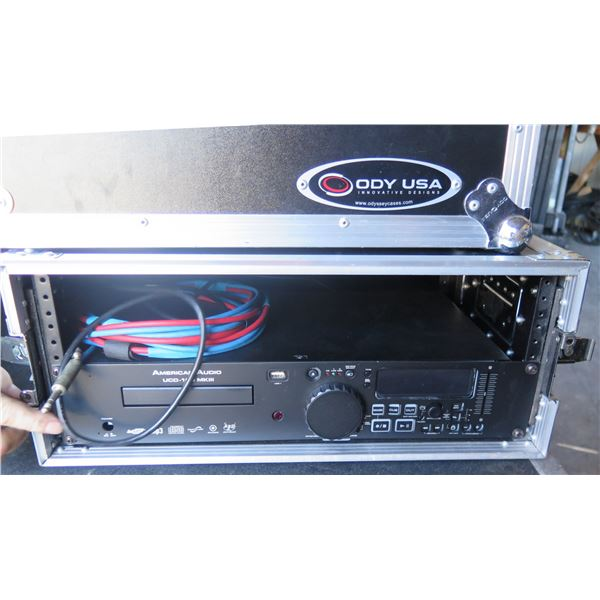 American Audio UCD-100, Rackmount CD Player w/ Pitch Control - In Rack