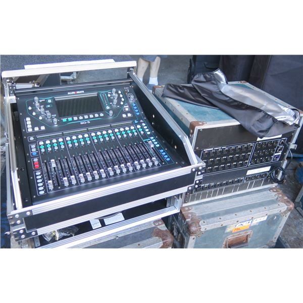 A& H SQ5 + AR2412 + AR84, 48 Inputs, Full Feature,  (Retail $5000) w/Long Cat Cable