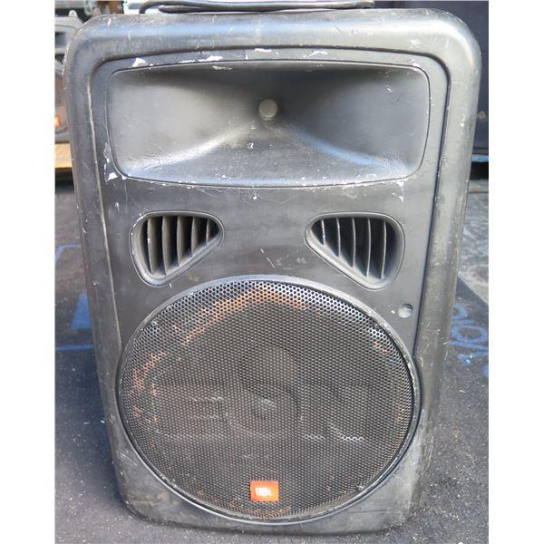 JBL EON-G2-15P  Hi Power Amplified Speaker, 3 Inputs, Link Output