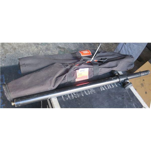 Pair of JBL Threaded  Speaker Mounting Poles in Zippered Bags;