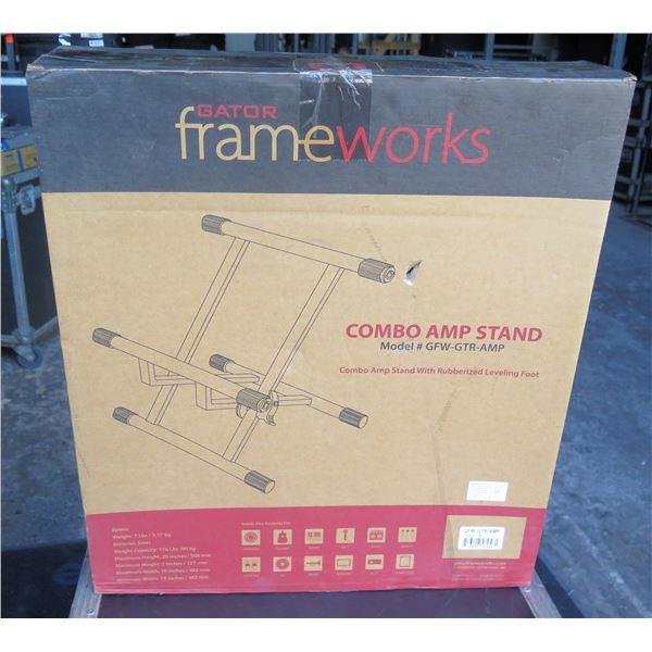 Frameworks Amp Tilt Back Stand  -  Fits Fender and Similar, New in Box