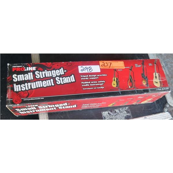 Stringed Instrument Stand New in Box