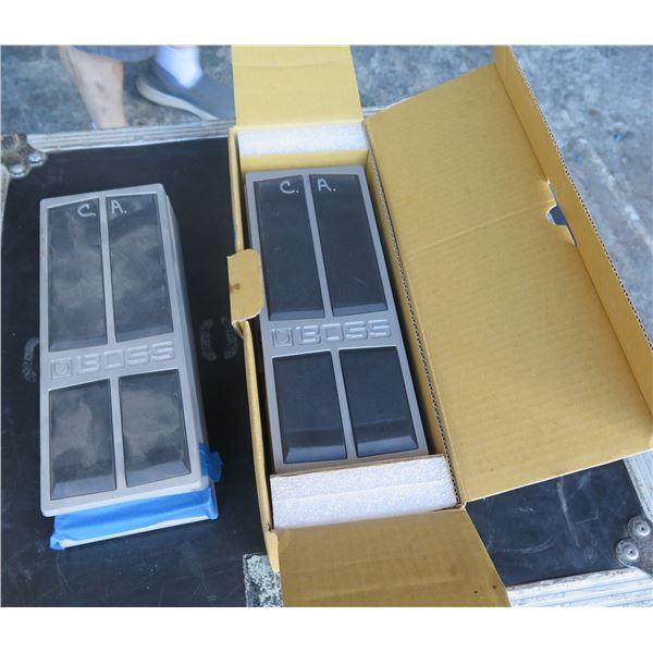 Qty 2 Boss FV500 Expression Pedals,  One is NIB,