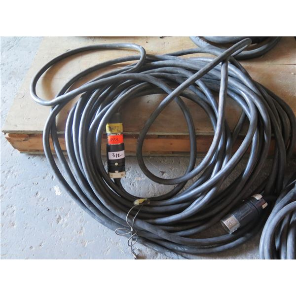 Spider Cable 100' for Generator Power