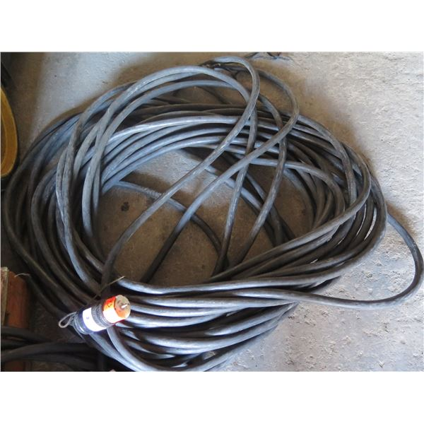 150' Spider Cable to Bare Wire - Typical for Tow-In Generators