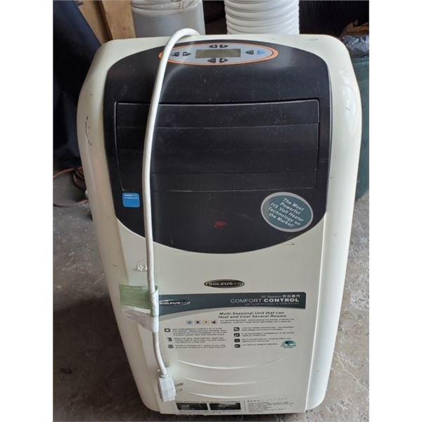Soleus Air Portable AC Unit #LX-140/LX, 14000 BTU, 120v operation, Dual Air Flow Hoses