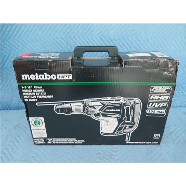 """Hitachi Metabo MD90480 Rotary Hammer 1-9/16"""" SDS-Max New in Box"""