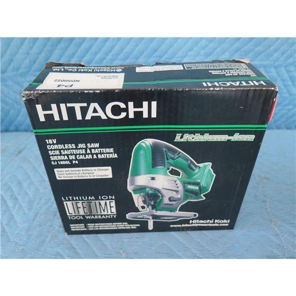 Hitachi CJ 18DGL Cordless Jig Saw 18V New in Box