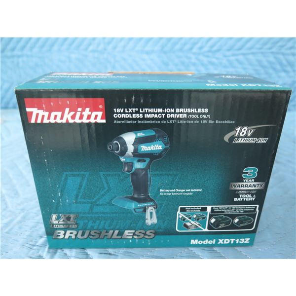 Makita XDT13Z Cordless Impact Driver 18V LXT (Tool Only) New in Box