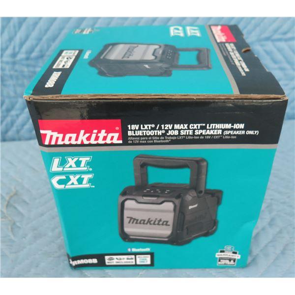 Makita XRM08B Bluetooth Jobsite Speaker 18V (Speaker Only) New in Box