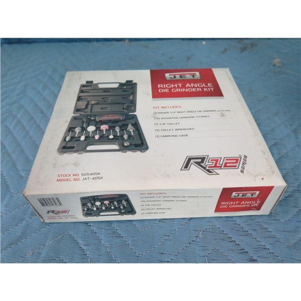 JET JAT-404K R12 Series Straight Die Grinder Kit New in Box