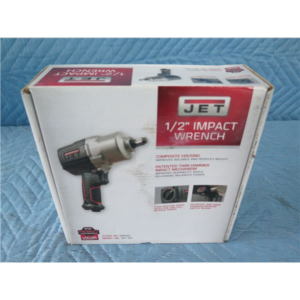 """JET JAT-121 Impact Wrench 1/2"""" New in Box"""