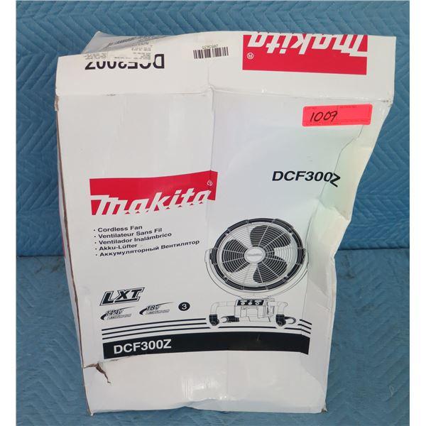Makita DCF300Z Cordless Fan New in Box