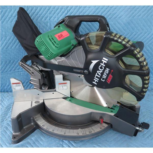 "Hitachi C12FDH Dual 12"" Compound Miter Saw"