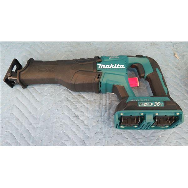 Makita XRJ06 Cordless Reciprocating Saw 36V