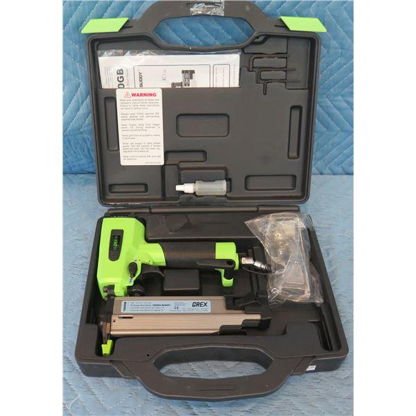 GREX 1850GB Green Buddy 18 Gauge Brad Nailer in Hard Case