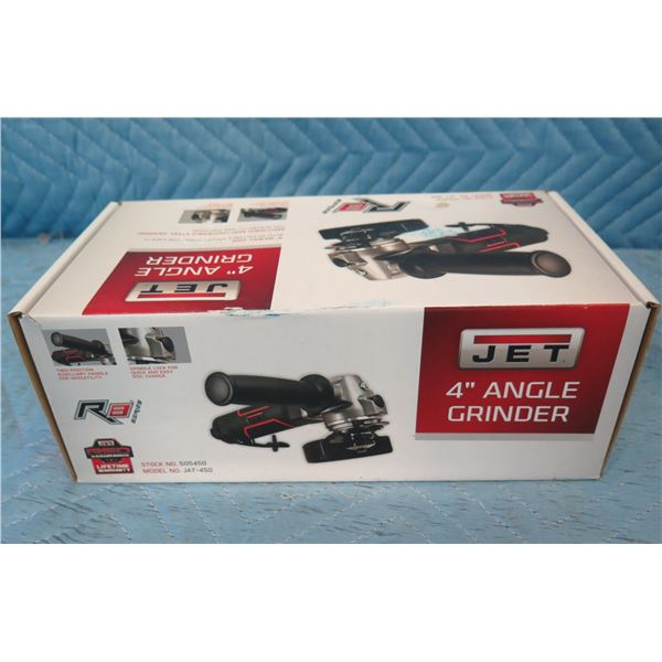 """JET JAT-450 R8 Series 4"""" Angle Grinder New in Box"""