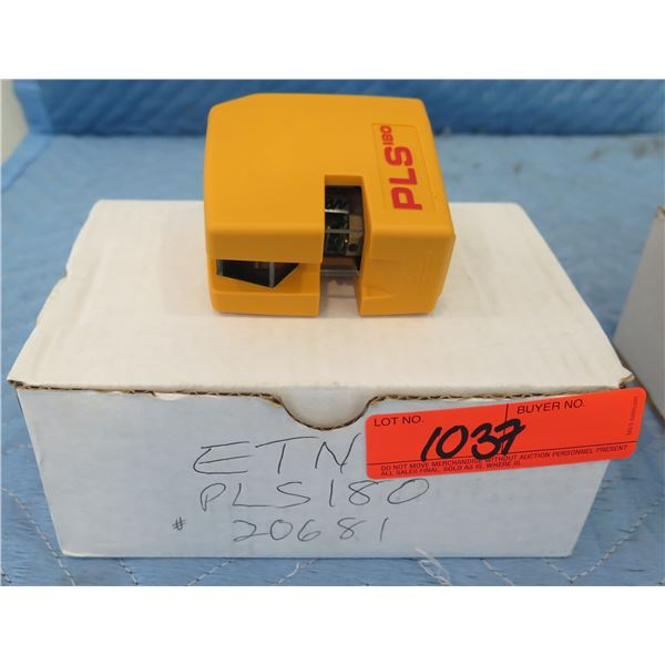 Pacific Laser Systems PLS180 Cross Line Self Levelling Laser