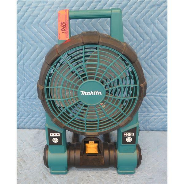 Makita BCF201 Cordless Fan 18V
