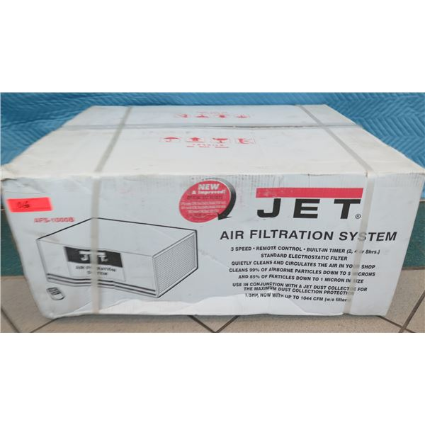 JET AFS1000B Air Filtration System 3 Speed New in Box