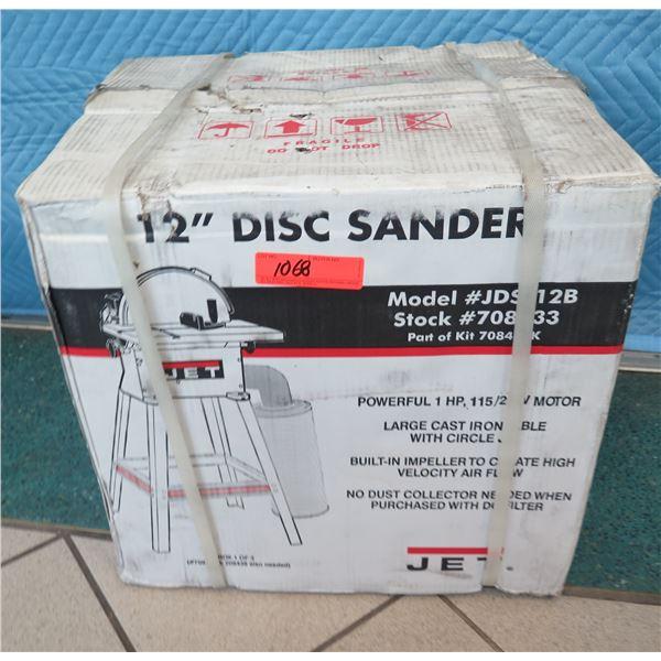 """JET JDS12B Disc Sander 12"""" New in Box"""