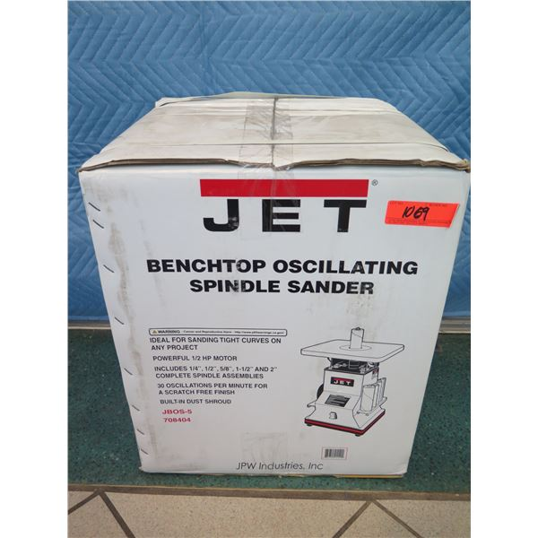JET JBOS-5 Benchtop Oscillating Spindle Sander New in Box