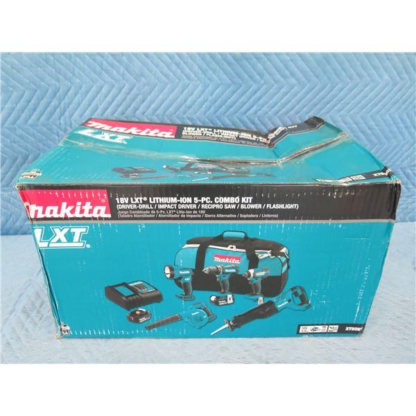 Makita XT506S LXT Combo Kit: Driver Drill, Impact Driver, Blower etc New in Box