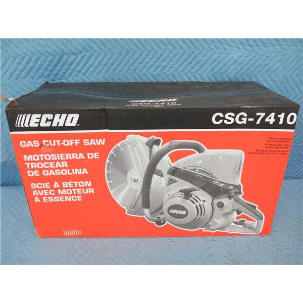 Echo CSG-7410 Gas Cut-Off Saw New in Box