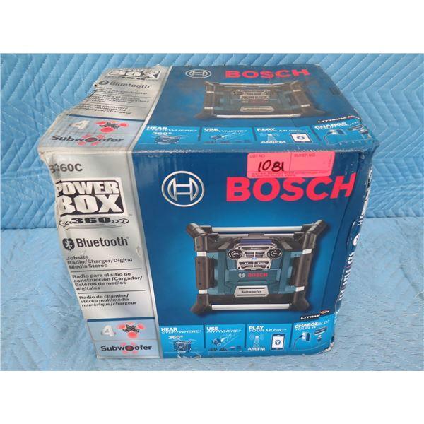 Bosch PB360C Power Box Bluetooth Jobsite Radio New in Box
