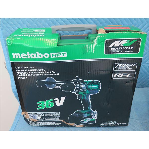 Hitachi Metabo HPT DV36DA Cordless Hammer Drill New in Box