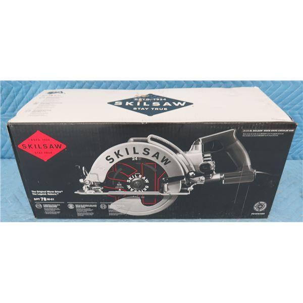 "Skilsaw SPT78W-01 Worm Drive Circular Saw 8-1/4"" New in Box"