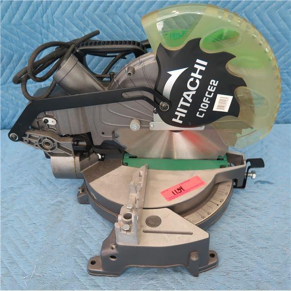 "Hitachi C10FCE2 Compound Miter Saw 10"" (Returned Item)"