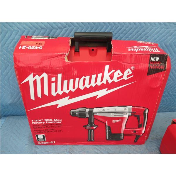 "Milwaukee 5426-21 SDS-Max Rotary Hammer 1-3/4"" New in Box"