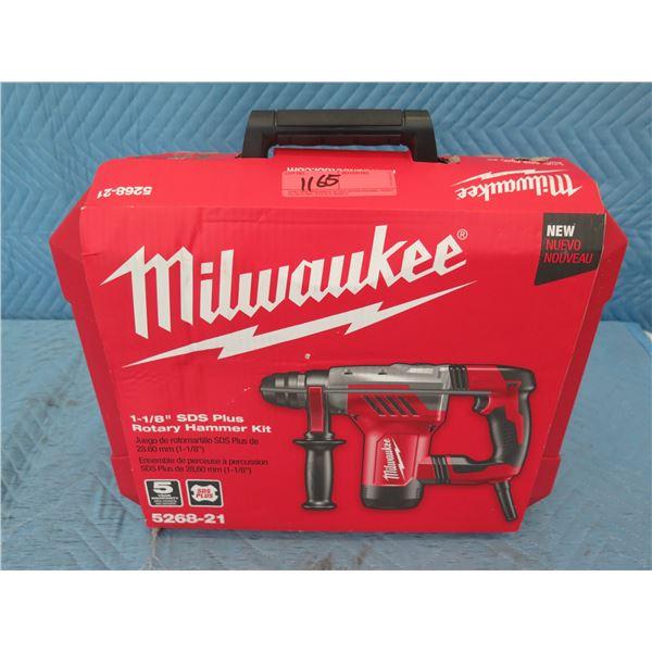 Milwaukee 5268-21 SDS Plus Rotary Hammer Kit New in Box