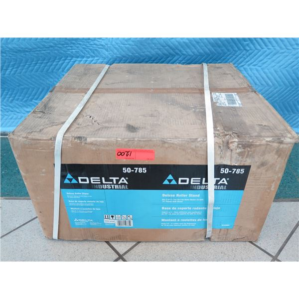Delta 50-785 Deluxe Roller Stand New in Box