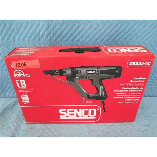 Senco DS235-AC Auto-Feed Screwdriver (Returned Item)