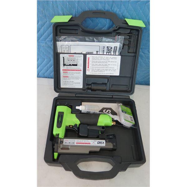 """GREX P635 23 Gauge 1-3/8"""" Length Headless Pinner in Hard Case (Returned Item)"""