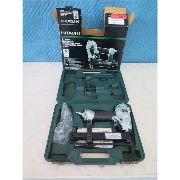 """Hitachi Metabo HPT NT50AE2 Brad Nailer 2"""" & N3804AB3(S) Stapler (Returned Item)"""
