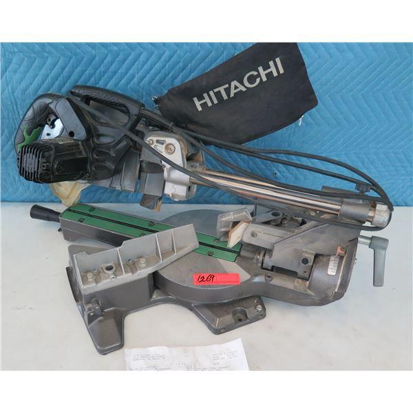 "Hitachi C8FSE Dual Compound Miter Saw 8-1/2""  (Returned Item)"