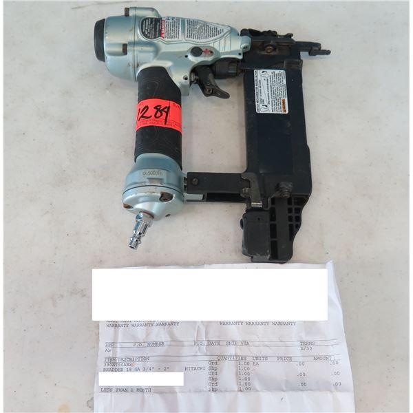 "Hitachi Metabo NT50AE2 Brad Nailer 18 GA 3/4""-2"" (Returned Item)"