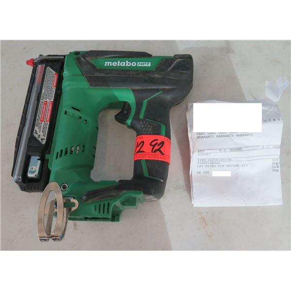 Hitachi Metabo HPT NP18DSAL Cordless Pin Nailer 18V (Returned Item)