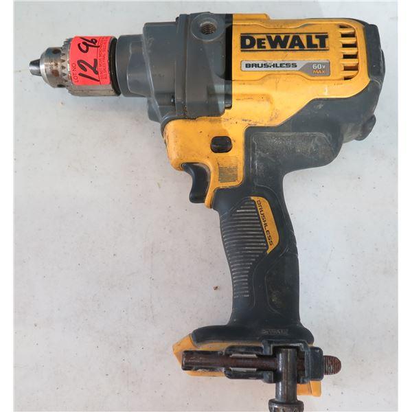 DeWalt DCD130 Cordless Mixer Drill 60V Tool Only (Returned Item)