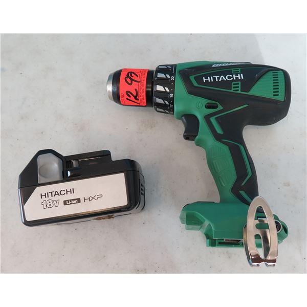 Hitachi DV18DBFL Cordless Hammer Drill 18V Tool Only (Returned Item)