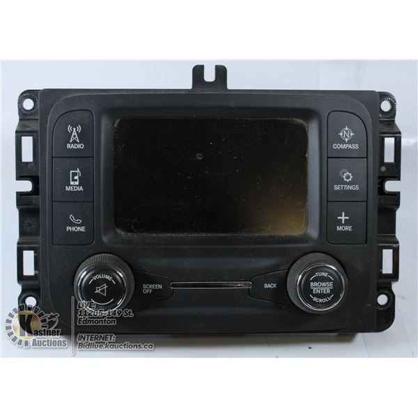 DODGE RAM 2013-2016 FACTORY STEREO UCONNECT