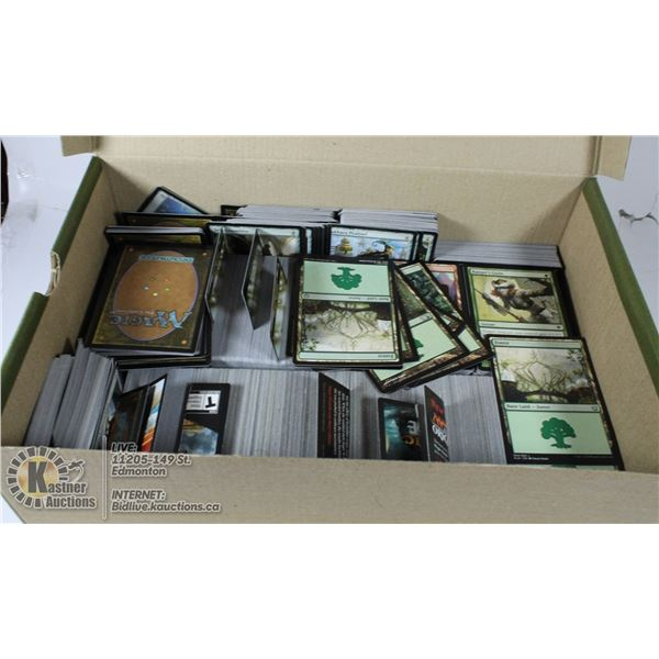 BOX OF APPROX OVER 1000 MTG MAGIC GATHERING
