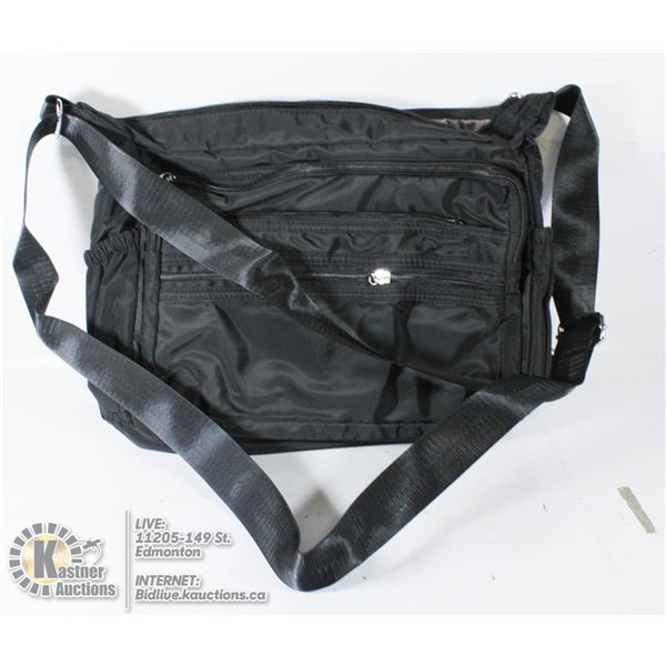 BRAND NEW PURSE BLACK CROSS BODY/ SHOULDER STRAP