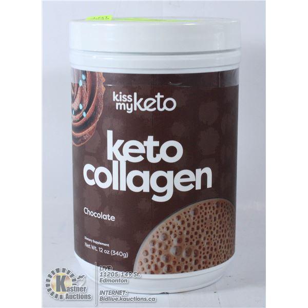 1X340G KETO COLLAGEN CHOCOLATE DIETARY SUPPLEMENT
