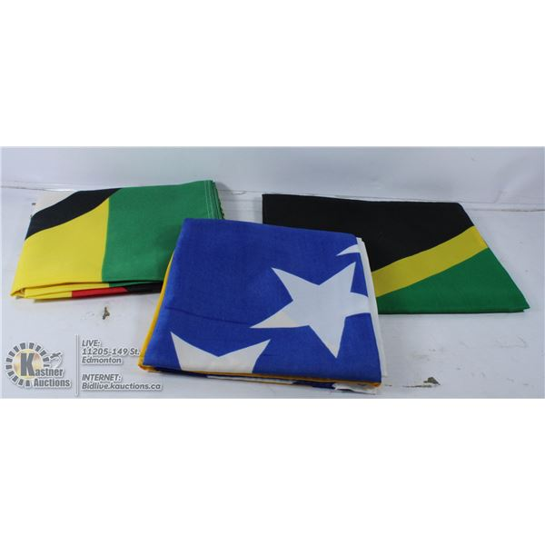 BOX OF FLAGS